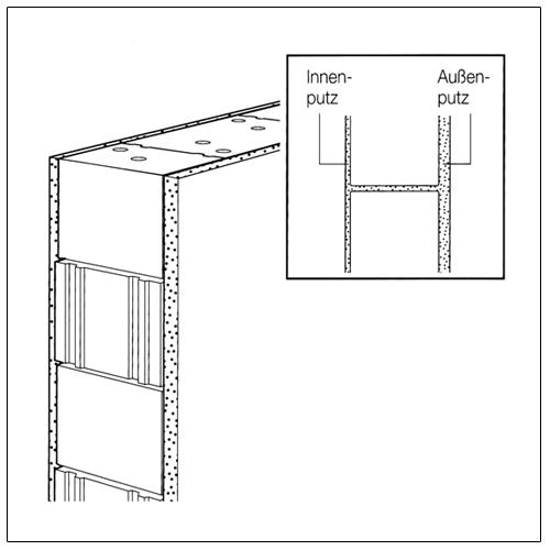 au enwandkonstruktionen aufbau verschiedenartiger w nde mit klb mauerwerk klb. Black Bedroom Furniture Sets. Home Design Ideas